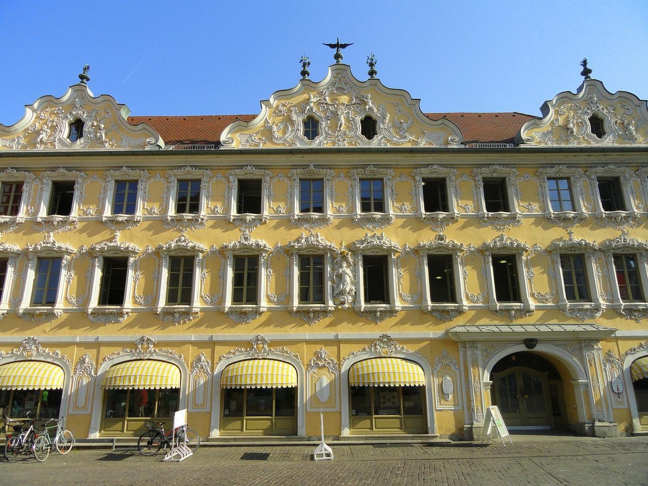 fassade falkenhaus würzburg