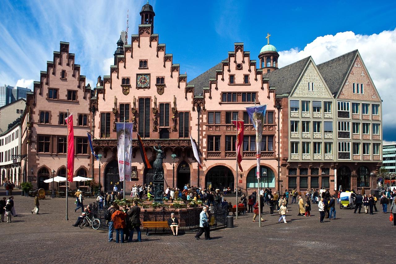 fassade roemer rathaus frankfurt
