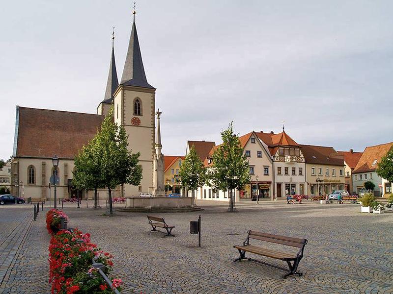 Haßfurt_marktplatz